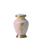 Aria Rose (Pink on Gold)  Cremation Urn