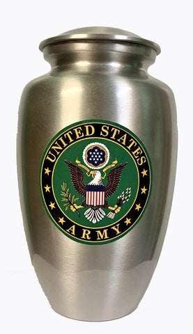 """Our Hero - Army"" Cremation Urn 