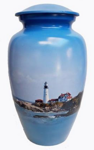 Beacon Lighthouse Cremation Ash Urn | Vision Medical