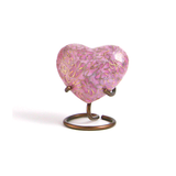 Essence Rose Heart Cloisonne Cremation Urn