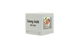 Somerset White Photo Urn Keepsake | Vision Medical