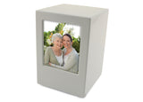 Somerset White Photo Urn | Vision Medical