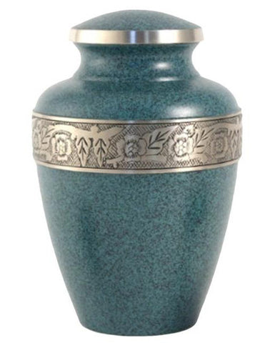 Terrybear Avalon Evening Blue Cremation Urn | Vision Medical