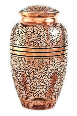 Copper Oak Cremation Urn | Vision Medical