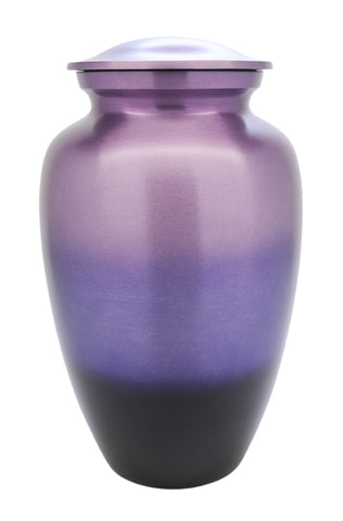 Purple Phases Cremation Urn