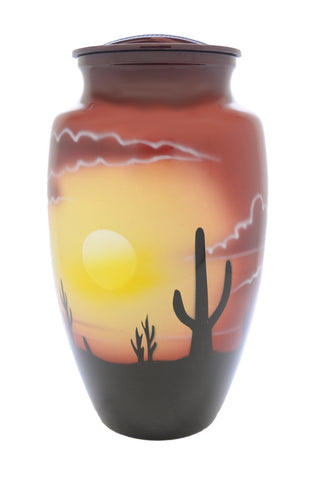 Sonoran Skies Hand Painted Cremation Urns | Vision Medical