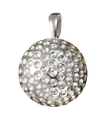 Sterling Silver or Gold Golf Ball Cremation Pendent | Vision Medical