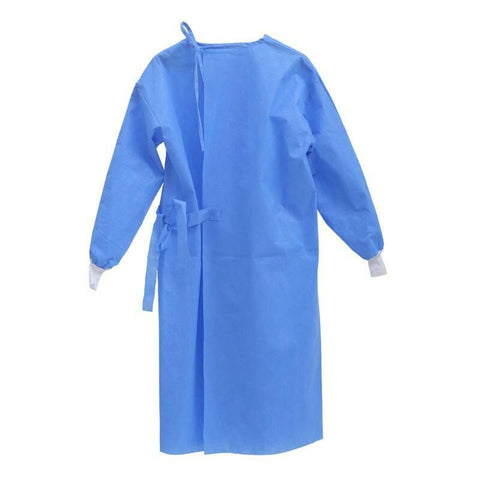 Premium Disposable Isolation Gown | Universal Size | AAMI Level 1 | 10/Case |  Vision Medical | Covid-19 Supplies