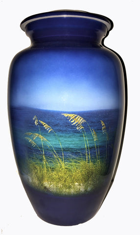 Gulf Waters 30A - Cremation Urn |  Themed Beach and Ocean cremation urn