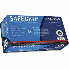 SafeGrip - High Risk, Powder-free Latex Gloves (Microflex MS-375) | Vision Medical