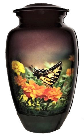 Butterfly Monarch High Definition Cremation Urns
