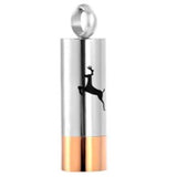 Stainless Steel Deer Shotgun Shell Cremation Pendant | Vision Medical
