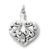 Sentimental Expressions Antique Heart Remembrance Jewelry QSX172 | Vision Medical