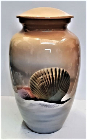 Seashell Serenity | Cremation Urn | Vision Medical