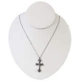 Stacked Cross Cremation Pendant