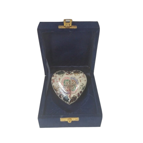 Cremation Urn - Lattice Heart  Keepsake