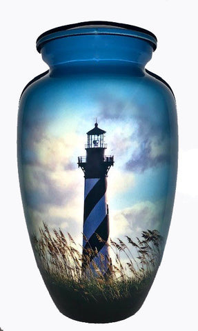 Cape Hatteras Lighthouse cremation urn