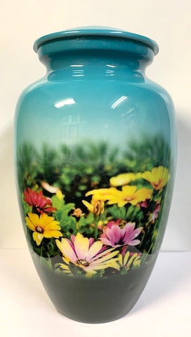 Daisy Delight | Cremation Urn | Vision Medical