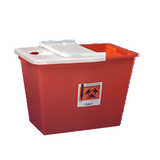 Sharps Container 8 Gallon Hinged Lid