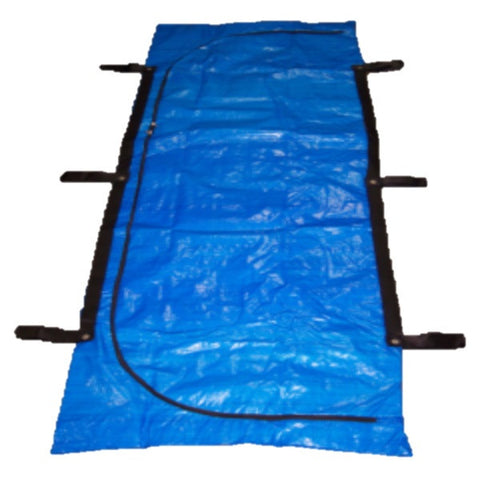 Mid weight handled human body bag for coroners , funeral homes and mortuaries
