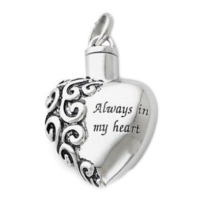 Sentimental Expressions Always In My Heart Remembrance Jewelry QSX173