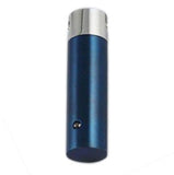 Stainless Steel Blue Cylinder Cremation Pendant | Vision Medical