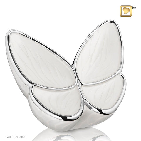 Pearl Wings of Hope Butterfly Cremation Urn | Themed Butterfly Urn | Love Urns