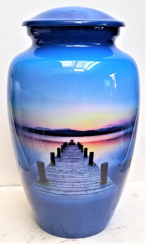 """Dock to Heaven"" Cremation Urn 