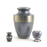 Lineas Starlight Blue Cremation Urn