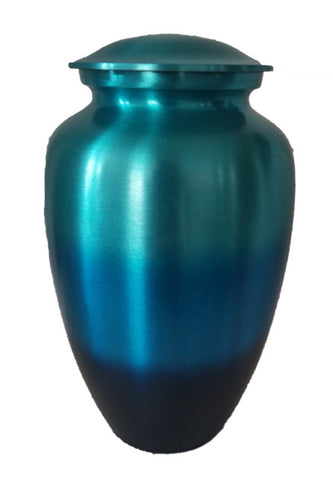 """My Blue Heaven"" -  Cremation Urn"