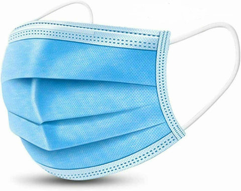 Medical Grade Face Masks, Blue, Pleated, FDA approved | Vision Medical