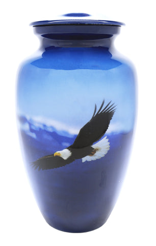 Spirit in the Sky patriotic Cremation Urn | Vision Medical