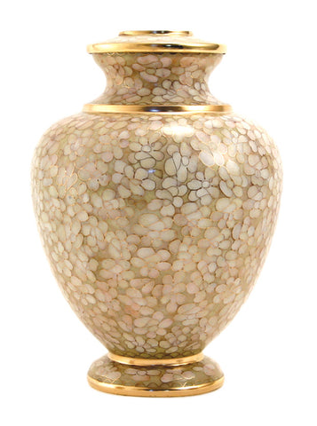 Terrybear Essence Opal Cloisonne Cremation Urn | Vision Medical