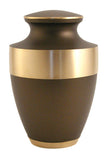 Lineas Rustic Bronze Cremation Urn | Vision Medical