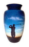 The Perfect Swing Hand Painted Cremation Urn | Vision Medical