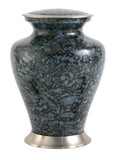 Glenwood Gray Marble Cremation Urn | Vision Medical