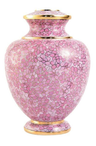 Terrybear Essence Rose Cloisonne Cremation Urns