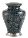 Glenwood Gray Marble Cremation Urn