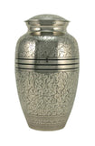 terrybear urn Antique Silver Oak Cremation Urn | Vision Medical
