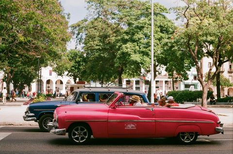 havana classic american car analogue film