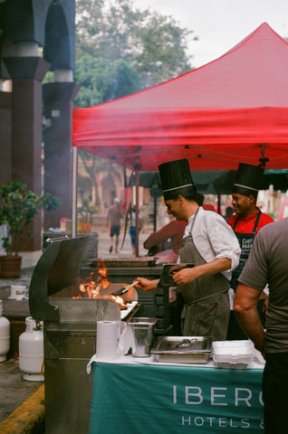 havana cuba street food analogue film