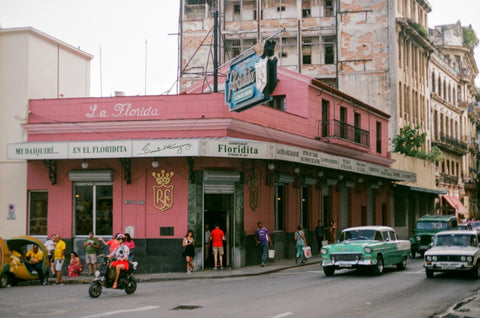 havana la floridita bar analogue film