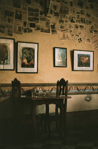 trinidad cuba restaurant la redaccion analogue film