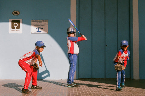 havana cuba baseball children analogue film