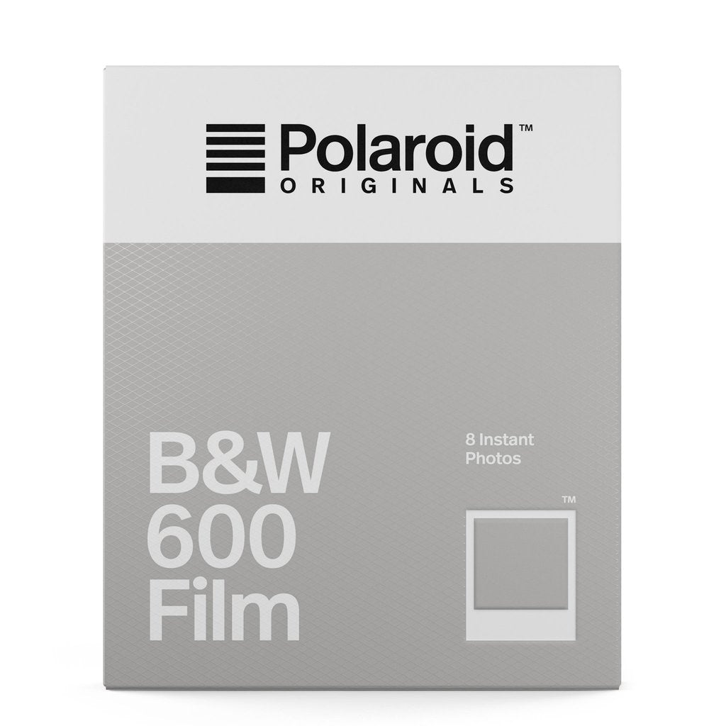 Polaroid Originals B&W 600 Film-Film Bros
