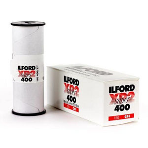 Ilford XP2 Super 120 B&W Film-Film Bros