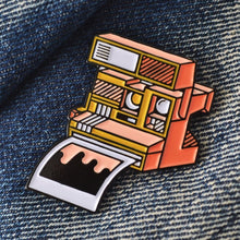 Analog Is Different Polaroid Enamel Pin-Film Bros