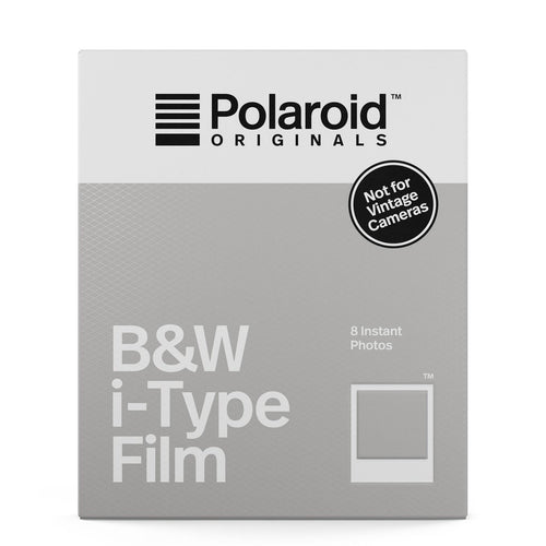 Polaroid Originals i-Type B&W Film - film-bros