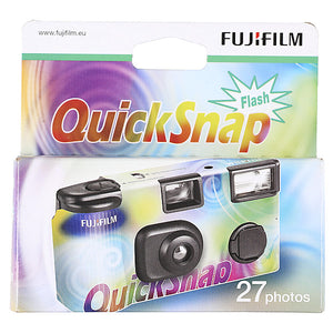 Fujifilm QuickSnap Single Use Camera (27 exposures)-Film Bros
