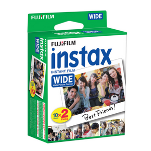 Fujifilm Instax Wide Film Twin Pack-Film Bros